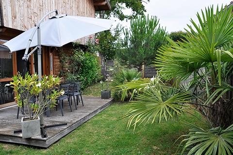 Les cabanes aux oiseaux g te location maison vacances andernos les bains - Maison starck cap ferret ...